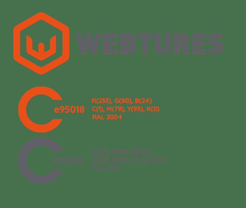 Webtures Logo Renk Kodları
