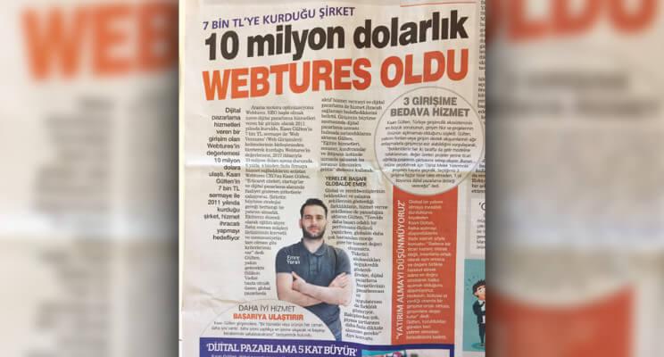 Şirket CFO'muzun Haber Türk Röportajı