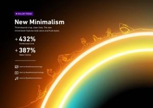 Pazarlama Tasarım Trendleri Yeni Minimalizm