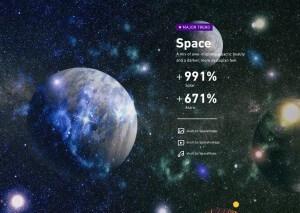 Pazarlama Tasarım Trendleri Uzay