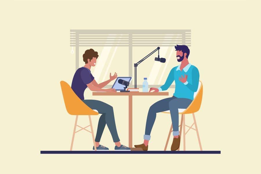 Podcast üretimi