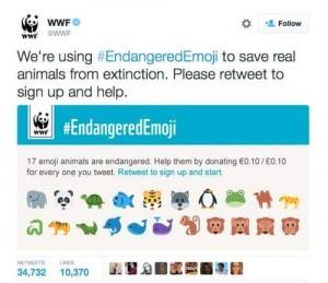 WWF-EndangeredEmoji-on-Twitter